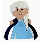 Paper Wizard - Petite Princess Collection - Die Cuts - Petite Princess - Ice Queen