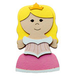 Paper Wizard - Petite Princess Collection - Die Cuts - Sleeping Princess