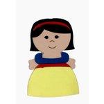 Paper Wizard - Petite Princess Collection - Die Cuts - Petite Princess - Snow