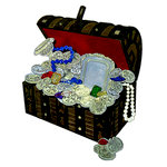Paper Wizard - Pirates Collection - Die Cuts - Pirates Chest