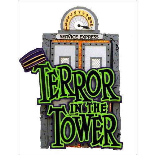 Paper Wizard - Disney - Die Cuts - Terror in the Tower