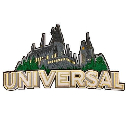 Paper Wizard - Theme Park Collection - Die Cuts - Universal Castle Title