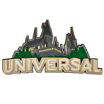 Paper Wizard - Theme Park Collection - Die Cuts - Universal Castle Title