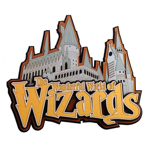Paper Wizard - Die Cuts - Wonderful World of Wizards