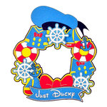 Paper Wizard - Theme Park Collection - Die Cuts - Ducky Wreath