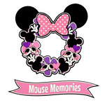 Paper Wizard - Die Cuts - Mousy Wreath - Pink