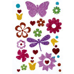 Queen and Company - Stick-Ems - Clear Stickers - Spring