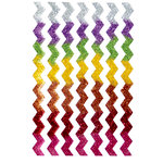 Queen and Company - Stick-Ems - Clear Stickers - Chevron