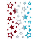 Queen and Company - Stick-Ems - Clear Stickers - Stars