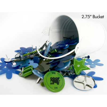 Queen and Company - Embellishment Assortment - Bucket of Boy, CLEARANCE