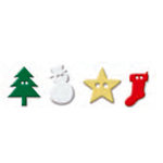 Queen and Company - Christmas Collection - Buttons