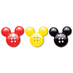 Queen and Company - Magic Millennium Collection - Disney - Buttons - Mickey Heads