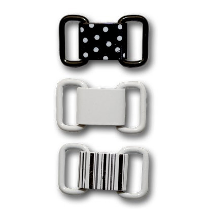 Queen and Company - Ribbon Buckles - Nightfall, CLEARANCE