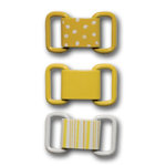 Queen and Company - Ribbon Buckles - Yellow Sun