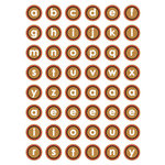 Queen and Company - Pets Collection - Cardstock Stickers - Alphabet - Pet