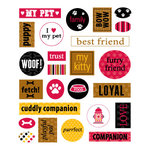 Queen and Company - Pets Collection - Cardstock Stickers - Pet