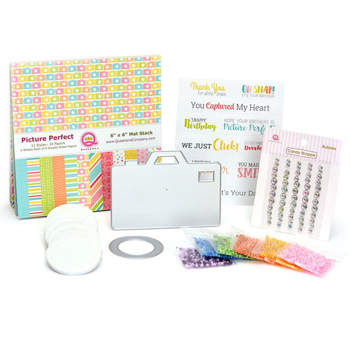 Queen and Company - Shaker Card Kit - Picture Perfect