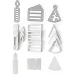Queen and Company - Shaker Shape Kit - Birthday