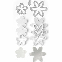 Queen and Company - Shaker Shape Kit - Flowers