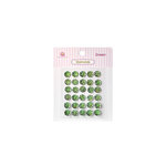 Queen and Company - Bling - Self Adhesive Rhinestones - Diamonds - Green