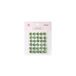 Queen and Company - Bling - Self Adhesive Rhinestones - Diamonds - Green