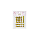 Queen and Company - Bling - Self Adhesive Rhinestones - Diamonds - Yellow