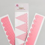 Queen and Company - Self Adhesive Edgers - Cotton Candy
