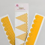 Queen and Company - Self Adhesive Edgers - Lemon Drop