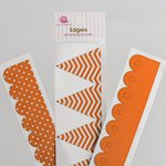 Queen and Company - Self Adhesive Edgers - Orange Crush