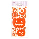 Queen and Company - Halloween - Epoxy Icons - Pumpkin Play