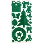 Queen and Company - Epoxy Icons - Christmas Green