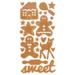 Queen and Company - Christmas - Epoxy Icons - Gingerbread Sweets