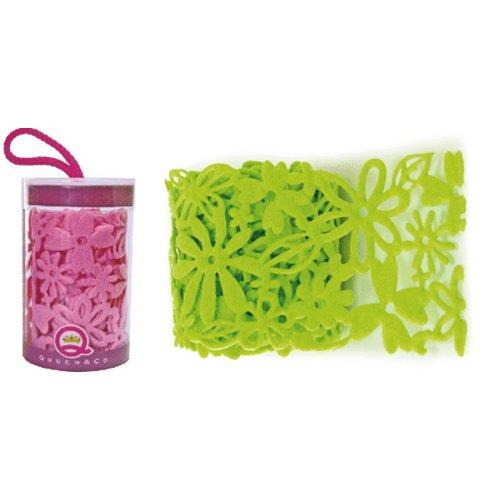 Queen and Company - Felt Ribbon - 3 feet - Go Green, CLEARANCE