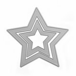 Queen and Company - Pop Up Dies - Nested Star
