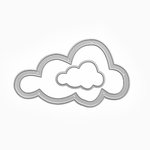 Queen and Company - Pop Up Dies - Nested Cloud