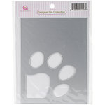 Queen and Company - Foam Front - Designer Dies - Paw Print