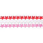 Queen and Company - Self Adhesive Felt Fusion Border - Mini - Hearts