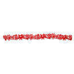 Queen and Company - Self Adhesive Felt Fusion Border - Christmas - Poinsettia - Red