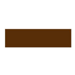 Queen and Company - Self Adhesive Felt Fusion Ribbon - 1.6 Inches - Solids - Brown, CLEARANCE