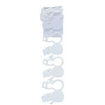 Queen and Company - Self Adhesive Felt Fusion Ribbon - 1.6 Inches - Winter - Christmas - Snowman