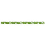 Queen and Company - Self Adhesive Felt Fusion Border - Flower 2 - Moss