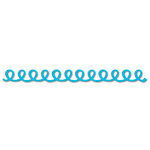 Queen and Company - Self Adhesive Felt Fusion Border - Doodle Loop - Turquoise