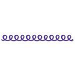 Queen and Company - Self Adhesive Felt Fusion Border - Doodle Loop - Purple