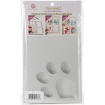 Queen and Company - Foam Front - Shaker Kit - Paw Print