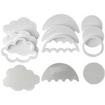 Queen and Company - Shaker Shape Foam Kit - Spring
