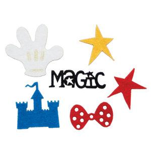 Queen and Company - Magic Millennium Collection - Disney - Felt Frenzy - Felt Pieces - Magic