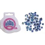 Queen and Company - Jewels - 50 pieces - Be Blue, CLEARANCE