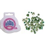 Queen and Company - Jewels - 50 pieces - Go Green, CLEARANCE
