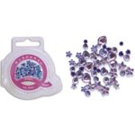 Queen and Company - Jewels - 50 pieces - Pure Purple, CLEARANCE