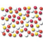 Queen and Company - Mini Sprinkles - Mini Mini Brads - Hottie, CLEARANCE